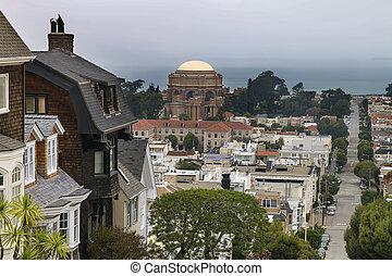 San Francisco Presidio Residential Neighborhood
