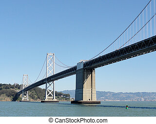 San Francisco side of Bay Bridge