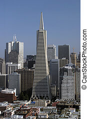 San Francisco Skyline - A view of the San Francisco skyline...
