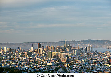 San Francisco skyline, California