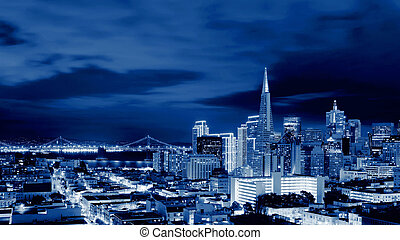 San Francisco Skyline , California, USA