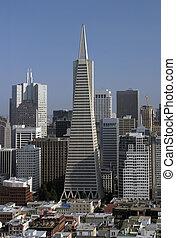 San Francisco Skyline - A view of the San Francisco skyline...