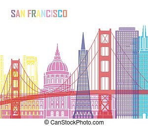 San Francisco skyline pop_V2 - San Francisco V2 skyline pop...