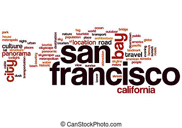 San Francisco word cloud