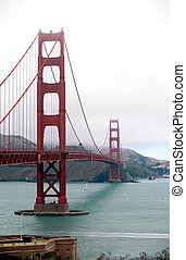 san, francisco's, berühmt, bridge.