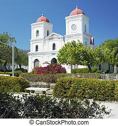 San Fulgencio's Church, Parque Calixto Garcia, Gibara, Cuba