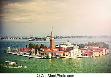 san giorgio, isla, venecia, italia