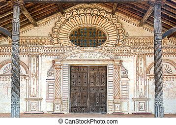 San Javier Church Facade - Facade of the UNESCO World...
