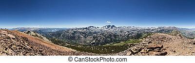 San Joaquin Summit Panorama