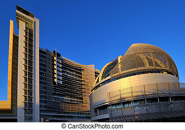 San Jose City Hall, California - The Beautiful Architecture...