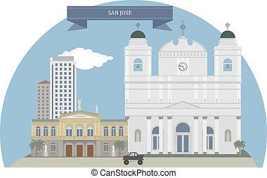 San Jose, Costa Rica - San Jose, capital and the nation's...