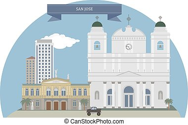 San Jose, Costa Rica - San Jose, capital and the nation's...