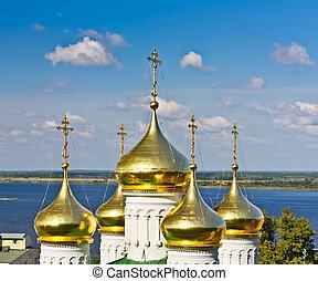 san juan bautista, iglesia, nizhny novgorod, rusia