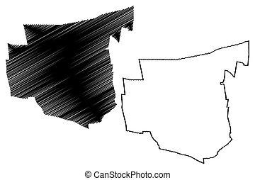 San Juan City (Argentine Republic, San Juan Province) map ...