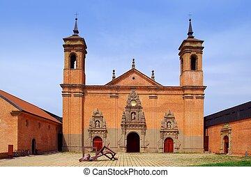 San Juan de la Pena new Monastery Huesca Spain Aragon