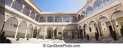 San Juan Evangelista University chapel cloister, old university, Baeza, Spain