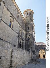 San Juan Evangelista University chapel facade, old university, Baeza, Spain