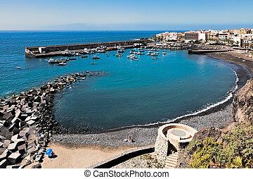 San Juan Harbour Tenerife