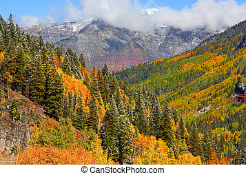 San Juan mountain landscape - San Juan mountains landscape...