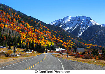 San Juan mountains - Scenic autumn landscape by Million ...