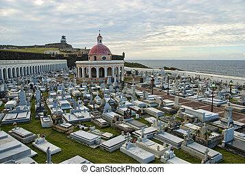 San Juan, Puerto Rico - Detail of San Juan, the Capital of...