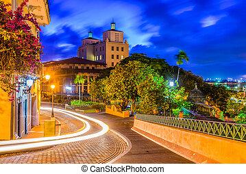 San Juan Puerto Rico - San Juan, Puerto Rico streets and...