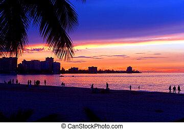 San Juan Puerto Rico Sunset