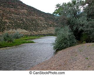 San Juan River - N.M. - The San Juan River is located in ...