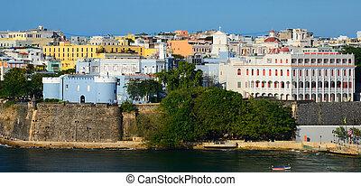 San Juan Skyline - Skyline of San Juan, Puerto Rico