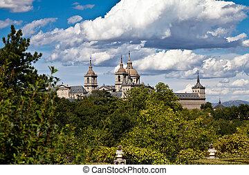 san, lorenzo, de, el escorial, monasterio, agujas, españa