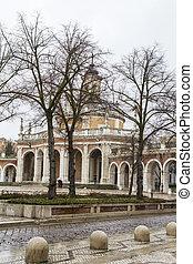 san, madrid, antonio, church.palace, aranjuez, españa