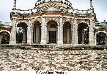 san, madrid, antonio, palacio, church., aranjuez, españa