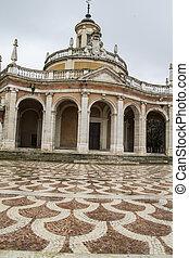 san, madrid, aranjuez, antonio., palacio, iglesia, españa