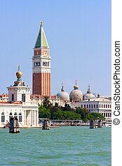 San Marco and Campanile, Venice, Italy