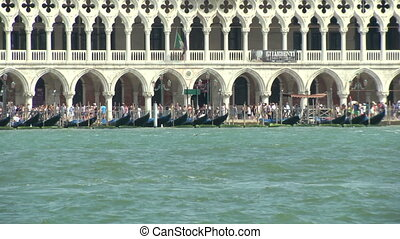 San Marco lagoon  - Doge%u2019s Palace, Venice (Italy)