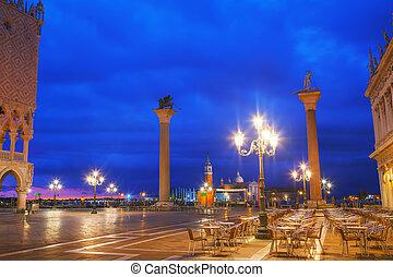 San Marco square in Venice, Italy