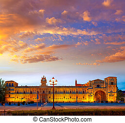 San Marcos in Leon at the way of Saint James - San Marcos in...