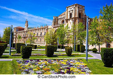 San Marcos in Leon at the way of Saint James
