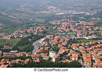 San-Marino | Bird-eye view
