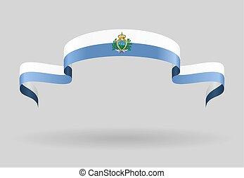 San Marino flag background. Vector illustration. - San ...