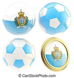 San Marino football team attributes isolated - San Marino ...