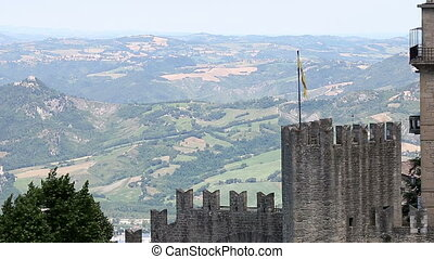 San Marino landscape