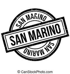 San Marino rubber stamp
