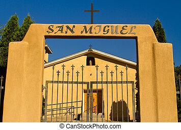 san, miguel, 教会, ニューメキシコ