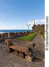 San Miguel Castle in Garachico Town