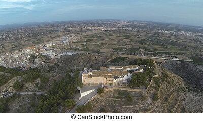 San Miguel Monastery - Aerial view of San Miguel de Lliria...