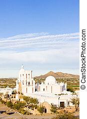 san misión xavier bac, arizona, estados unidos de américa