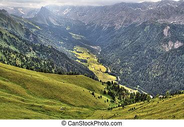 San Nicolò Valley, Trentino, Italy
