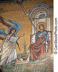 san, pre-existing, romanico, sopra, 13, cattedrale, annuncio...