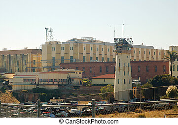 San Quentin State Prison in California, home of...